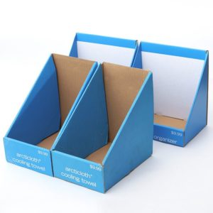 Promotion Cardboard Carton Counter PDQ Display Tray