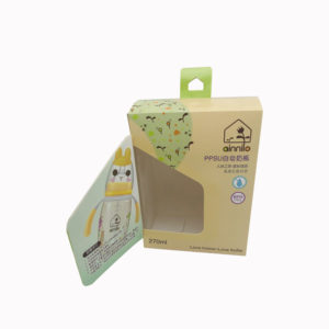 Recycled Paper Packaging Cardboard Magnetic Boxes for Milk Bottle