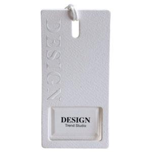 Custom Specialty Paper Embossed Hang Tags Labels