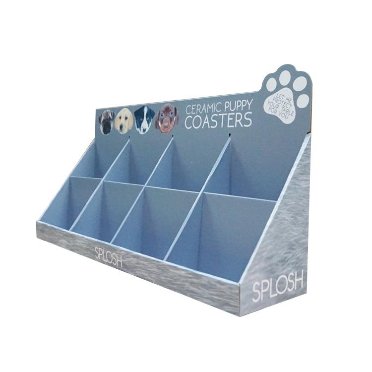 Custom Wholesale Pets Snacks Countertop PDQ Display Tray