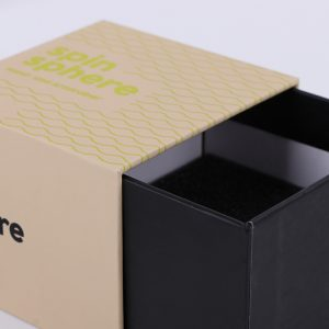 Manufacturer Custom-made Drawer-Shaped Gift Boxes with Foams Inside