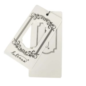 Wholesale Display Labels Hang Tags for Clothing with String